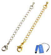 Generic Chain Extender for Jewellery Necklace Bracelet, Silver/Gold