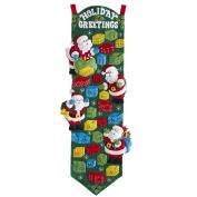 Bucilla Felt Applique Home Decor Kit, 36cm by 90cm , 86685 Laundry Garland