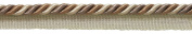 10 Yard Value Pack Medium Beige Multi Tone Baroque Collection 0.8cm Cord with Lip Style# 0516BL Colour