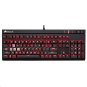 Corsair Gaming Strafe Mechanical Gaming Keyboard Backlit - Red LED - Cherry MX Blue