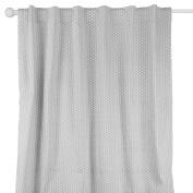 Grey Confetti Dot Print Window Drapery Panels - Set of Two 210cm by 110cm Panels