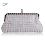 HMaking Soft Clutch For Women Bling Crystal Evening Clutch Bags