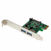 StarTech.com 2 Port PCI Express SuperSpeed USB 3.0 Card Adapter with UASP - SATA PEXUSB3S24