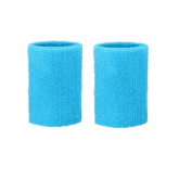 Kagogo 7.6cm Cotton Sports Wristband / Sweatband For Basketball Tennis And Other Sports, Price/Pair