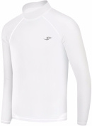 New Boys & Girls Youth 159 White Winter Warm Compression Skin Tight Shirt