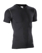 Smitty Compression Comfort Tech V Neck Short Sleeve Shirt