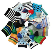 B & S FEEL Baby's Assorted 12 Pairs Cotton Socks