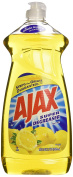 Ajax Dishwashing Liquid, Super Degreaser, Lemon, 830ml