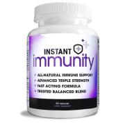 Instant Immunity, Immune Support Formula, Maximum Strength, 60 Capsules