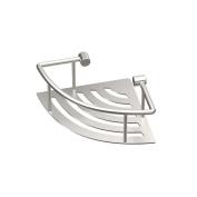 Gatco 1453 Elegant Corner Shelf, Brushed, 20cm