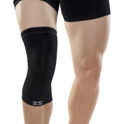 Zensah Compression Knee Sleeve - Relieve Knee Pain, Treat Runners Knee, Patella Support