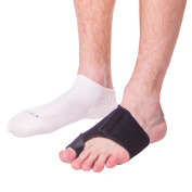 BraceAbility Turf Toe Strap Soft Taping Treatment- S-Right