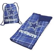 NFL Dallas Cowboys Drawstring Bag with Sleeping Sack
