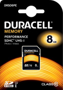 Duracell Performance 8 GB SDHC Class 10 UHS-I Memory Card