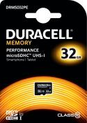 Duracell Performance 32 GB MicroSDHC Class 10 UHS-I Memory Card