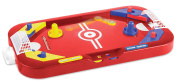 Two Player Desktop 2 in 1 Soccer and Knock Hockey Mini Table Top Game - Classic Arcade Games Tabletop Soccer Ball Ice Hockey Shooting Fun Toy