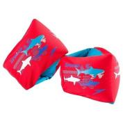 Speedo Kids Begin to Swim Level 2 Fabric Armbands - Red Sharks
