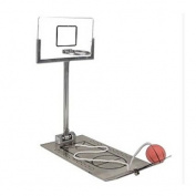 HLJgift Creative Funny Desktop Miniature Basketball Game Toy - Christmas Day Gift Fun Sports Novelty Toy or Gag Gift Idea