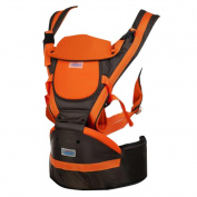 Mainaisi Baby Sling Carriers 3D Mesh Soft Structured Ergonomic Front Back Orange