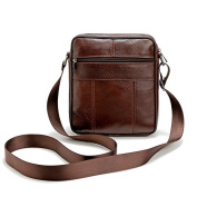 Retro leather bag men, men shoulder Messenger bag, leather bag