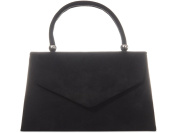 fi9® Retro Suede Tote Style Wedding Ladies Party Prom Evening Clutch Hand Bag Purse