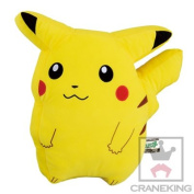 Pokemon Original 33cm Cushion - Pikachu WE MEET AGAIN - Banpresto Japan