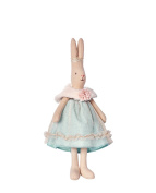 Maileg - Mini Bunny Rabbit - Blue Tulle - Princess Sofia - Straight Eared Rabbit - 26cms