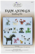 Quilled Creations Farm Animals Quilling Kit