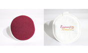 Moroccan Exfoliating Cleansing Facial Pad Kessa Reversible Dual Use as a Cleanser and Exfoliator for Face and Neck