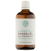 Cold pressed almond oil (100 ml) - pure oil produced by Greenstyle