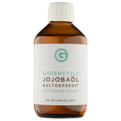 Cold pressed Jojoba oil (250 ml) - 100% pure oil for skin and hair care, produced by Greenstyle