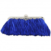 Bodhi2000® Ladies Vintage Satin Clutch Bag Evening Cocktail Purse Wedding Party Bridal Prom