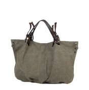 DATO Retro Large Canvas Tote Bags for Women Handbags Multifunction Fashion Hobos Shoulder Bags Casual Cross Body Top Handle Bags
