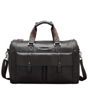 Men's travel leather bag large-capacity business bags