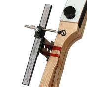 Archery Recurve Bow Sight Metal Target Accessory Bowsight Black 1 Set