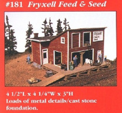 (Ship from USA) JL Innovative 181 HO Fryxell Feed & Seed Wooden Kit /ITEM#H3NG UE-EW23D170841