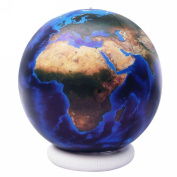 Jet Creations Inflatable 90cm Blue Marble Globe,Inflatable Children's Teaching Toys