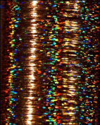 Grizzly Gleam shine hair extension's XXL Pack Holographic Gold