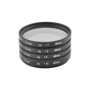 Generic 46mm Macro Close-Up Close Up Lens Filter +1 +2 +4 +10 + Pouch Kit For Canon Nikon Sony Camera