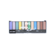 NYC Lovatics by Demi 12 Colour Eyeshadow Palette-040 City Vibes