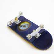 P-REP 2017 Blue Complete Wooden Fingerboard with Basic Bearing Wheels - Starter Edition