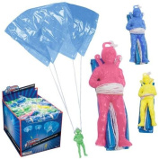 Toysmith Giant Parachute Toy - Lot of 3 - Colours Vary