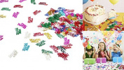 Dazzling Toys Colourful Happy Birthday Words Confetti. Greatest Party Decoration.