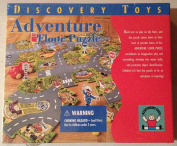 1996 Discovery Toys- Adventure Floor Puzzle-City