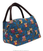 Splendid New Arrival Owl Thermal Insulated Tote Picnic Lunch Cool Bag Cooler Box Handbag Pouch