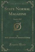 State Normal Magazine, Vol. 21