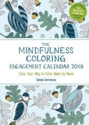 The Mindfulness Coloring Engagement Calendar 2018
