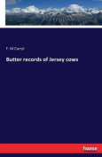 Butter Records of Jersey Cows