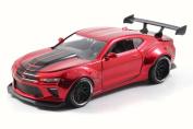 2016 Chevy Camaro SS, Red - Jada 98136WA - 1/24 Scale Diecast Model Toy Car