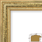 Craig Frames 59945000 30cm by 41cm Picture Frame, Smooth Finish, 3.2cm Wide, Gold